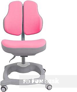 FD FUN DESK Diverso Pink-Silla para Ordenador (Altura Regulable, ergonómica), Color Rosa, 510x470x780 mm