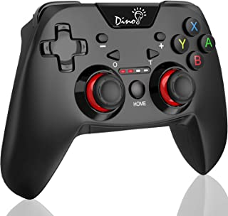 【2020最新版】DinoFire スイッチ コントローラー 連射機能 HD振動 ジャイロセンサー搭載 ボタン耐久力強化 Switch コントローラー Nintendo Switch 専用 プロコントローラー