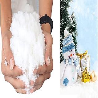 Instant Sneeuwpoeder Om In Een Paar Seconden Nepsneeuw Te Maken Diy Kerstinterieurdecoratie Mooie Simulatiesneeuw