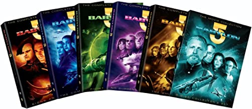 Babylon 5: The Complete Series with Movies 10pk