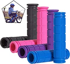 Rocutus 4 Pair Bike Handlebar Grips,Non-Slip Rubber Mushroom Bicycle Grips,Perfect for Scooter Cruiser Seadoo Tricycle Whe...