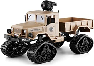 Fine Off-Road Sport Cars 4WD 2.4Ghz Rock Crawler Vehicle,RC Hobby Toys Military Truck with Wi-Fi HD Camera Gifts for Kids and Adults