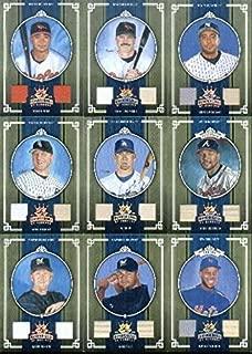 2005 Diamond Kings Materials Bronze #358 Geoff Jenkins Jersey / Pants Game-Worn Memorabilia Card Serial #'d/200