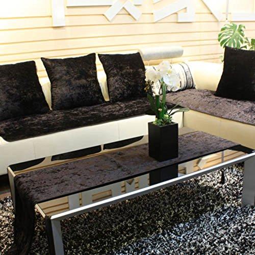 TY&WJ Sofabezug Anti-rutsch Sofabezug Schmutzabweisend Couch-abdeckungen Für Wohnzimmer Outdoor-schwarz 90x150cm(35x59inch)
