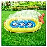 OMYLFQ Paddling-Pool für Hunde Hundepool Große große aufblasbare Schwimmbad Aufblasbare Spielzentrum Paddling Pool Badepool für Kinder, Spielen Badewanne Dichtlich (Color : D)