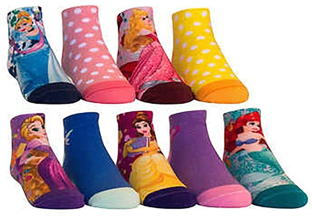 Kids Characters Socks, Disney Princess, Frozen, Star Wars, Avengers (9 - Pairs)