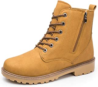 LHY7 Boot Men's Boots Outdoor Climbing Desert Boots Tooling Boots Casual Belt Zipper
