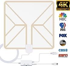 TV Antenna for Digital TV Indoor, 130+ Miles Range HDTV...