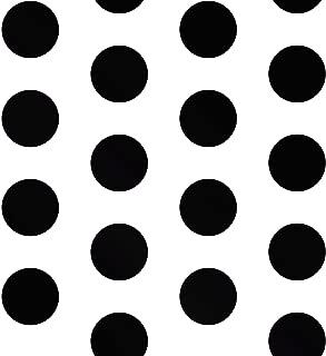 Big Dots Polka Dot Wallpaper Black/White A617 CAO 2
