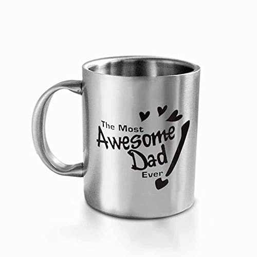 Hot Muggs The Most Awesome Dad Stainless Steel Mug
