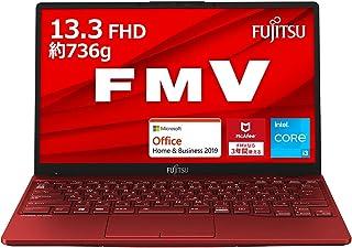 【公式】 富士通 ノートパソコン FMV LIFEBOOK UHシリーズ WU2/E3 (Windows 10 Home/13.3型ワイド液晶/Core i3/4GBメモリ/約128GB SSD/Office Home and Business...
