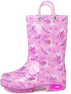 Best toddler girl light up rain boots Reviews