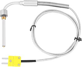 sourcingmap Controllore di temperatura a termocoppia di tipo K sonda Tester per sensori 190mm x 3mm