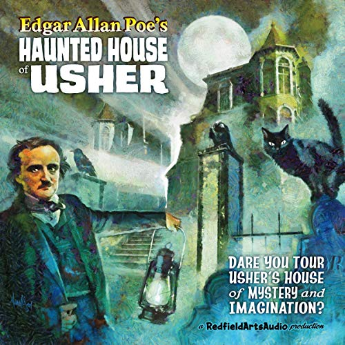 Edgar Allan Poe's Haunted House of Usher audiobook cover art