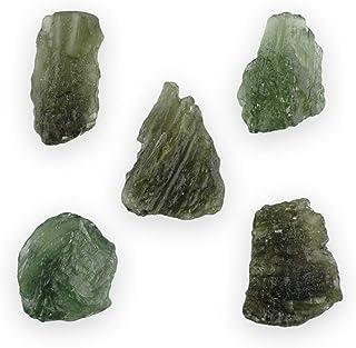 Auténtica piedra Moldavita bruta entre 10-13 quilates