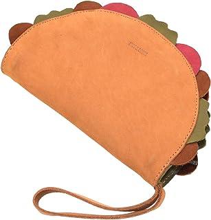 محفظة هايد آند دريب، محفظة جلدية متعددة الأغراض على شكل التاكو، منظم أدوات الماكياج، حامل النقود، حافظة سماعات أذن، إكسسوا...