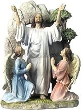 VERONESE Resurrection of Jesus Christ Light Color Polystone Statue Figurine