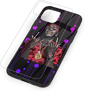 Lil Yachty Tempered Glass Case for iPhone 11,iPhone 11 Pro and iPhone 11 Pro Max, 9H Glass Back Cover + TPU Soft Shell for iPhone 11 Series