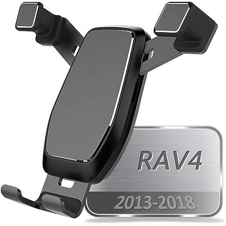 High Flying Handyhalterung Auto Handyhalter Für Rav4 Hybrid 2019 2020 Schwarz Auto