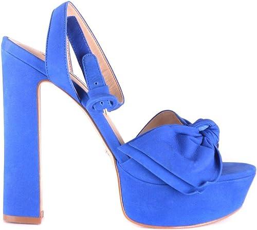 Steve Madden Madden Madden Femme MCBI33405 Bleu Suède Sandales 98d