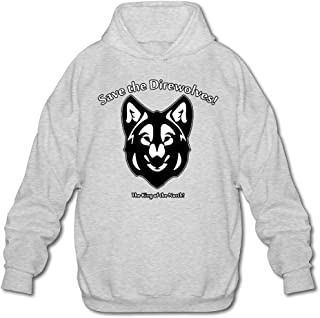 MPIQW Boy Save The Dire Wolves Hoodie Fashion Pullover Sweatshirt