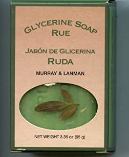 Glycerine Soap Rue by Murray & Lanman [ALL SEALED]