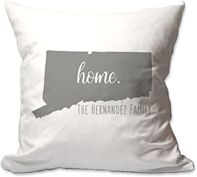 Amazon.com: Personalizado Estado de Alaska Home Throw Pillow ...