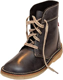 """Pink Duchess Womens Sz 6 Lace Up Combat Boots Brown 10/"""""""
