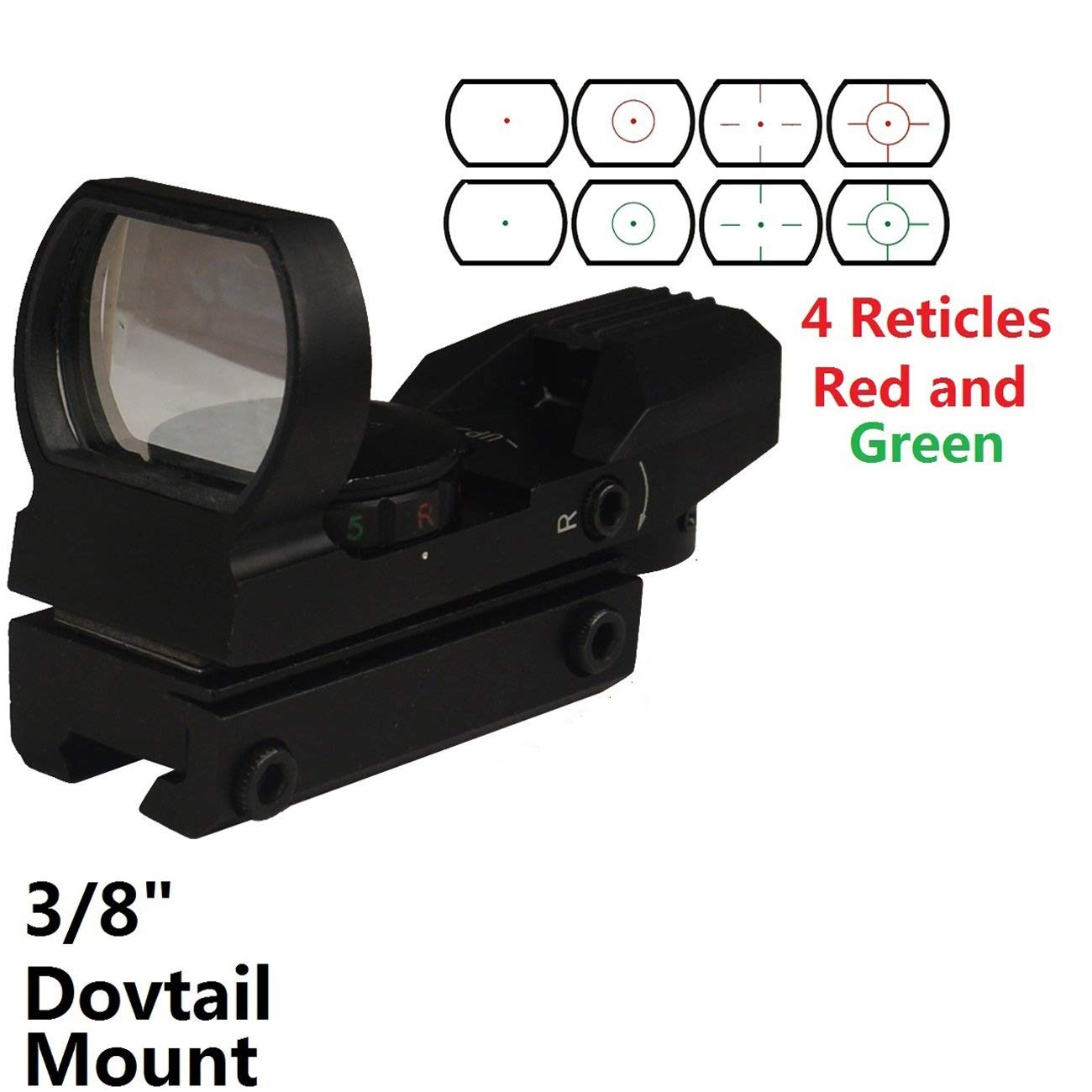 GOTICAL Reflex Reticles Dovetail Airsoft