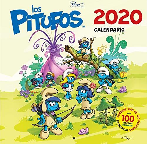 Calendario Los Pitufos 2020: 30 (Base Kids)