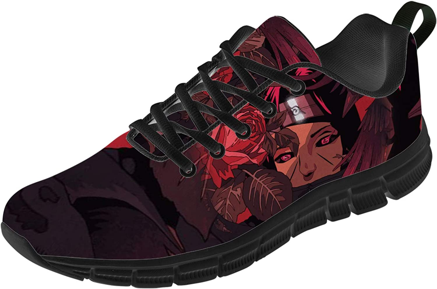 Uminder Japanese Anime Shoes for In a popularity Lightweight 3D Men Breath Purchase Print