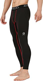 10STAR11 ARMEDES Men's Compression Quick Dry Baselayer Training Athletic Long Tights