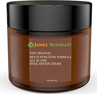 Jadole Naturals Skin Care Snail Repair Cream - All In One Recovery Power For The Most Effective Beauty Routine - 75 ml