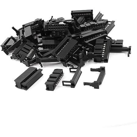 Sourcingmap 25 Stück Fc 16p 2 X 8 Pin Header Stecker Elektronik