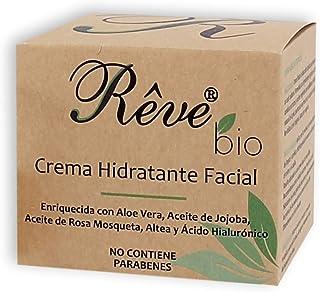 REVE Crema Hidratante Facial Bio - Hombre y Mujer Día y Noche fluida y de absorción rápida en la cara para todo tipo de ...