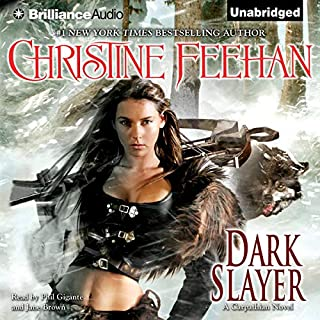 Dark Slayer     Dark Series, Book 20              By:                                                                                                                                 Christine Feehan                               Narrated by:                                                                                                                                 Phil Gigante,                                                                                        Jane Brown                      Length: 14 hrs and 26 mins     26 ratings     Overall 4.8
