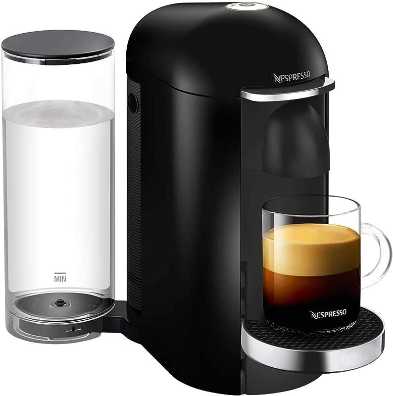 Nespresso VertuoPlus Deluxe Coffee And Espresso Machine Black