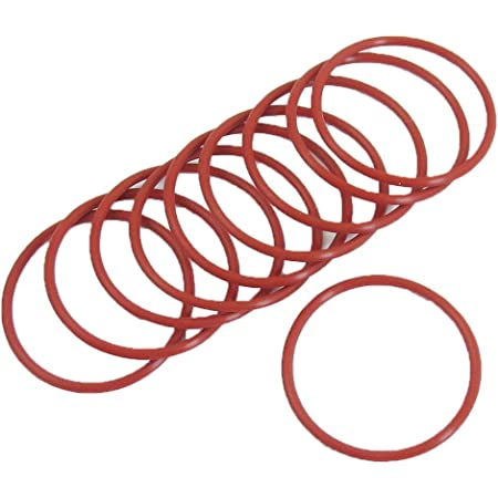 Uxcell Mechanical Rubber O Ring Oil Seal Gaskets Washer 10 Piece 24mm x 2.5mm