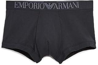 Emporio Armani Men's Soft Modal Trunk, Black, Small