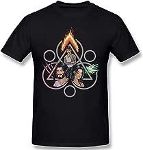 Coheed and Cambria Art Logo Men's Popular Short Sleeve Shirts Black