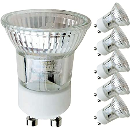 5 X Halogen Reflektor Klein Gu10 35w Mr11 230v Flood 30 Warmweiß 2700k Dimmbar 35 Watt 5 Stück Beleuchtung