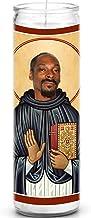 Snoop Dogg Celebrity Prayer Candle - Funny Saint Candle - 8 inch Glass Prayer Votive - 100% Handmade in USA - Novelty Cele...