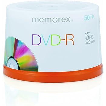 Memorex - 50 x DVD-R - 4.7 GB 16x - spindle - storage media