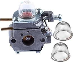 HIPA 753-06190 Carburetor with Primer Bulb for MTD Craftsman Bolens Murray Cub Cadet String Trimmer Weed Wacker # WT-973