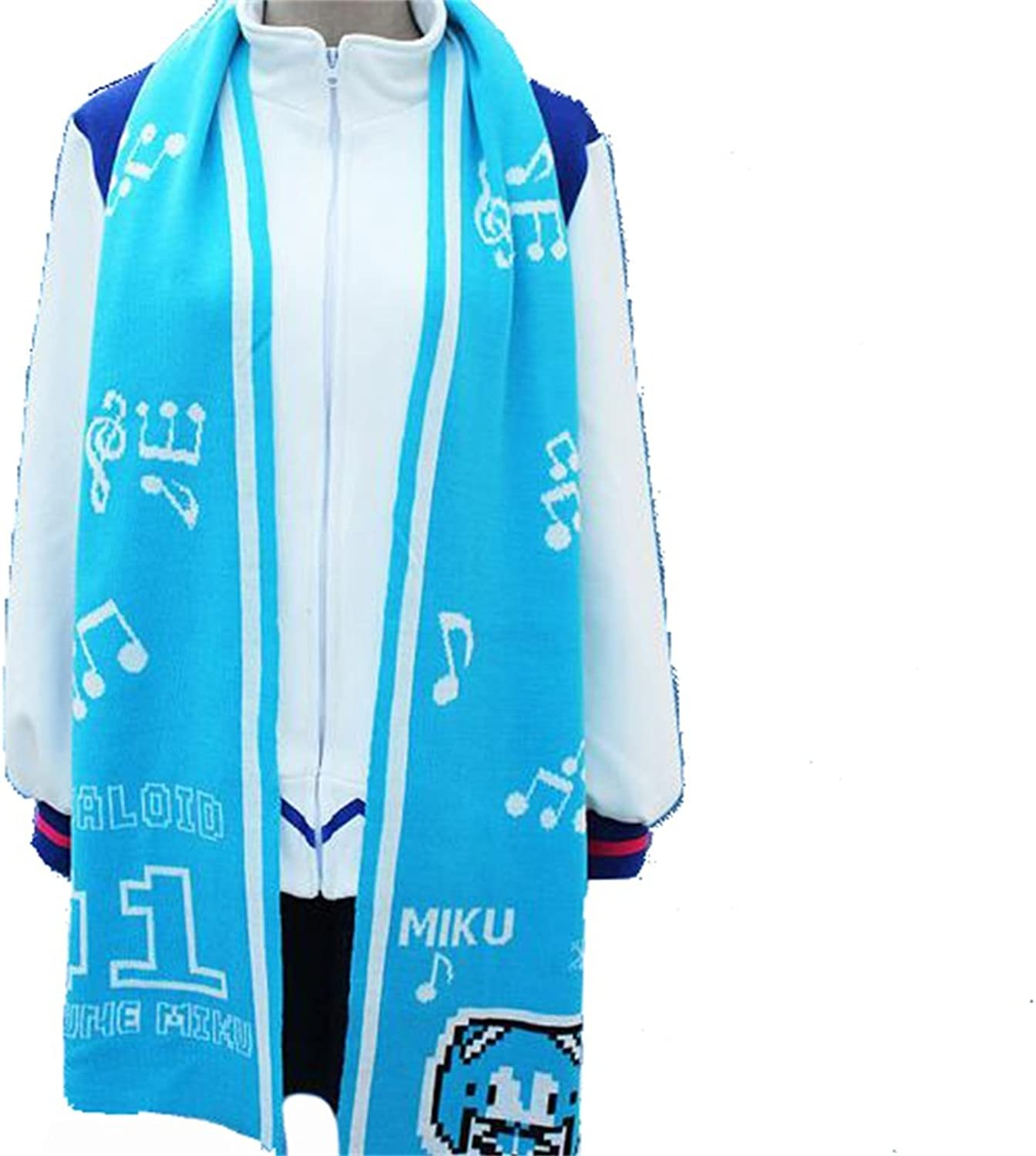 Vocaloid Snow Miku Winter top Jacket Hoodie Coat cosplay costume pre made