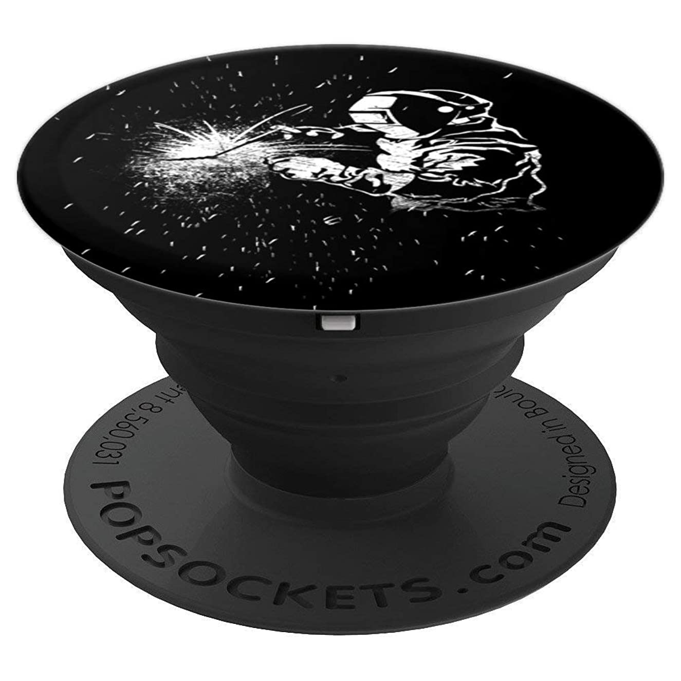 Welding Man Welder PopSockets Grip - PopSockets Grip and Stand for Phones and Tablets