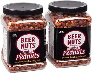 BEER NUTS Original Peanuts | 41 oz. Jar (2-Pack)