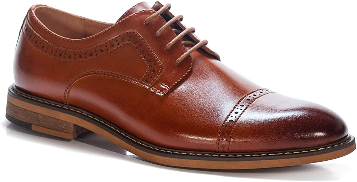 Men's Casual Dress Shoes Classic Oxfords Formal Modern Business Shoes