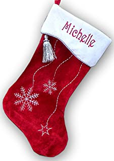 Best personalized snowflake christmas stockings Reviews