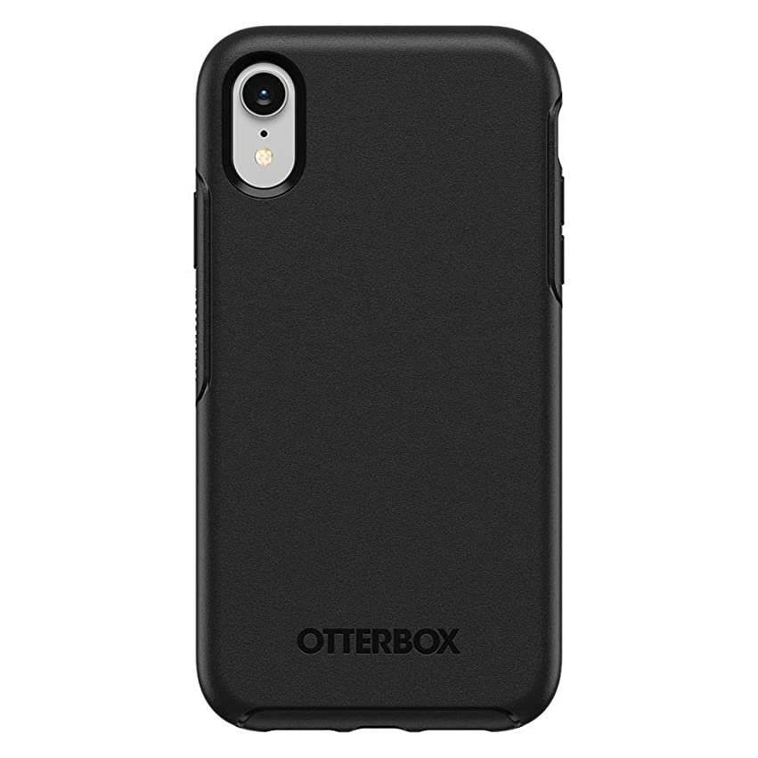 OtterBox Symmetry Series Case for iPhone XR (ONLY) - Black (Renewed) zbd8640671735